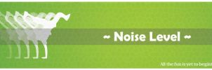 Noise Level Banner by shaiful12