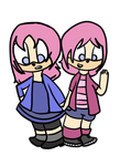 The Twins Are Back And Better Than Ever by Marshy--Mellow