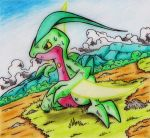 Grovyle Battle! by GTS257-CT