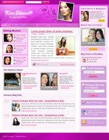 Kris's Blog Design Study v.4 by rheyzer