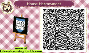 ACNL House Harrowmont Heraldry by meglish