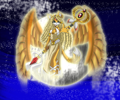 Nefera Sphinx priestess by WinterBreez