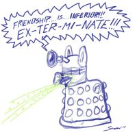 My Little Dalek - take 2 by Snapai