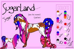 SugarLand Ref by FeatherfurWolf