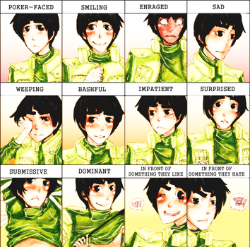 Expression Meme feat. Rock Lee by Skypeach