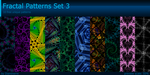 Fractal Patterns Set 3 by Diaminerre