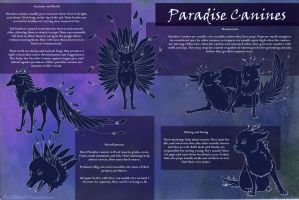 Paradise Canine Species Reference by x-RainFlame-x