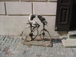 Decay of the Cyclist by Thompson51