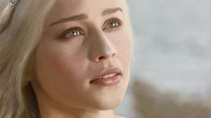 Digital Painting: Daenerys Targaryen by skARTistic