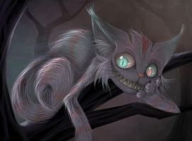 Cheshire cat. by Meammy