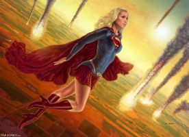 Supergirl by bchailes