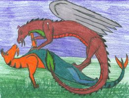 Dragon Gabriel Story line 2 by All-Crazy-Reptiles