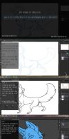 How to: Color within your lineart by urealistisk