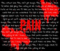Three Days Grace Pain by Thunderstruck190