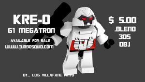 Buy kre-o model Megatron by doctorcocolia