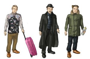 Dress up: Watson Combinations by alicelights