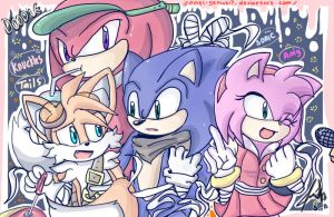 -SONIC BOOM- Just posing! by Amel-Genius17