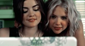 Aria and Hannah.-PLL- by BeccaStiefvater08