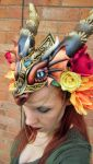DRAGON HEADDRESS 2 by Priscillascreations