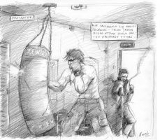 boxing by myszowor