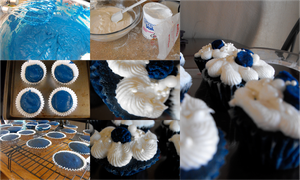 Blue Velvet Cupcakes by Dani-the-Naiad