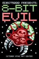 8-Bit Evil promo card... by edbot5000