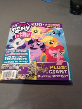 My copy of My little Pony poster book by sailorcancer01