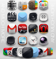 Modern Andorid Icon Pack - nova apex adw holo pro by shorty91