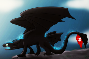 Toothless alpha power by TSupirka