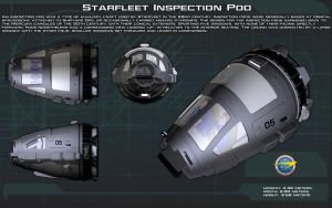 Starfleet Inspection Pod ortho [New] by unusualsuspex