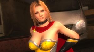 DOA5LR - Tina Fighter Force 01 by MomijiHayabusa