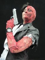Two Face - Arkham City by KittiofDOOM