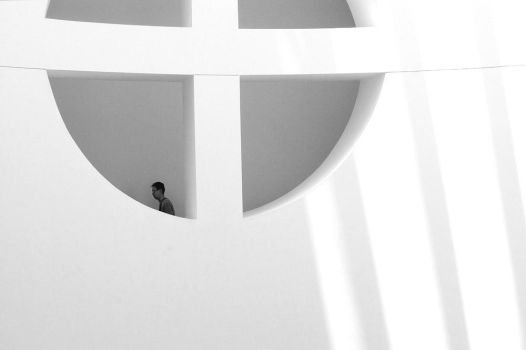 SFMOMA man by photoart1