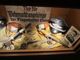 Luftwaffe Officer's Belongings by Valkyrja-Skuld