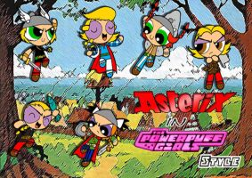 Asterix-PPG Style-The boy by Porn1315