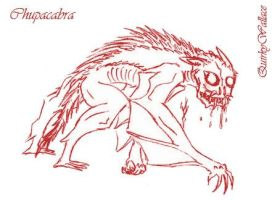 WTWE Chupacabra by QuirkyWallace