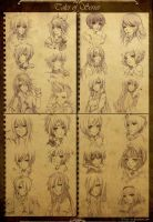 Tales of Series - Headshots by Yume-Rie