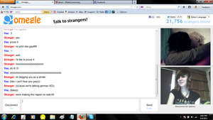 John X Dave OMEGLE LOVE by SavatorieBandit