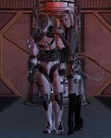 Shadowhawk and Katnip with their first contestant by ShadowhawkOne