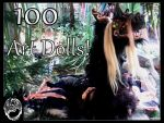 100 Art Dolls! by SonsationalCreations