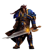 Varian Wrynn Render by Gloryfied1