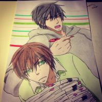 Takano and Onodera by Karina-o-e