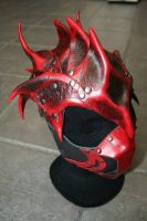 Demonic helmet by Damiane