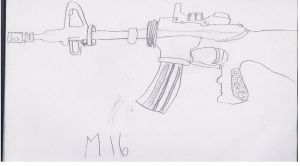 M16 by theBlackCat113