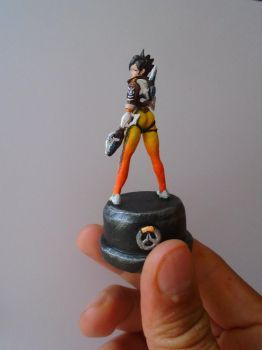 Mini Tracer Overwatch by JOPUTAPELIRROJO
