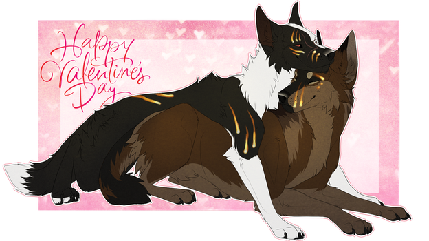 Happy Valentines Day by B0RZOI