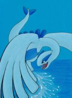 .:Guardian of the Seas:Lugia:. by LostDreamer92