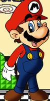 a random picture of mario by supermariofan54321