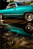 El Camino Reflections by olgieshmolgie