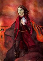 The last moment of Maedhros by Jedi-Anakin